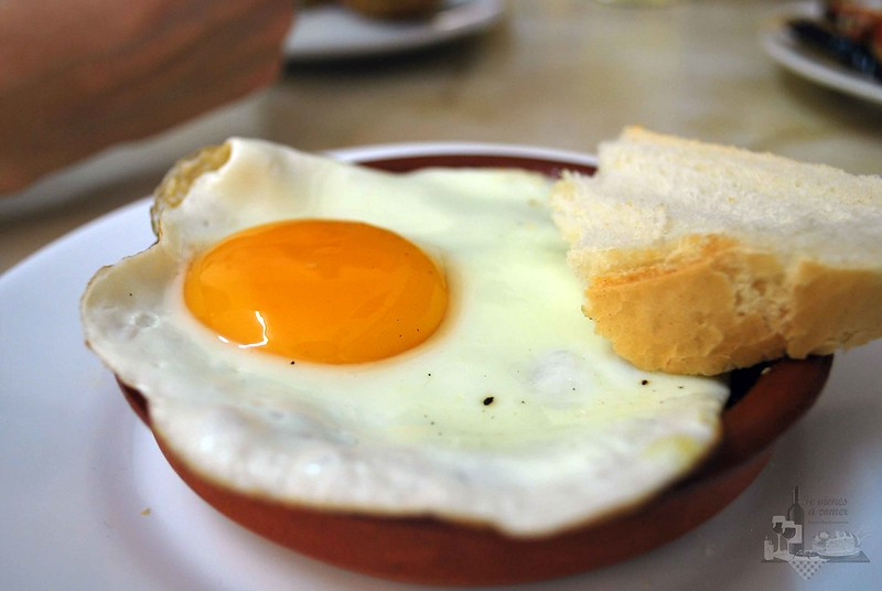 Pisto con huevo