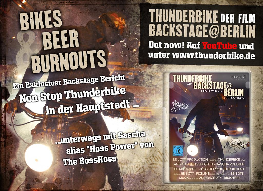 Thunderbike & The Boss Hoss in Berlin - The Shortfilm | Flickr