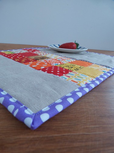 Placemat - Red, Orange & Yellow