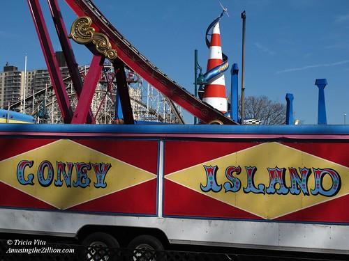 Coney Island signage