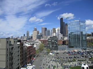 Seattle from CenturyLink Field