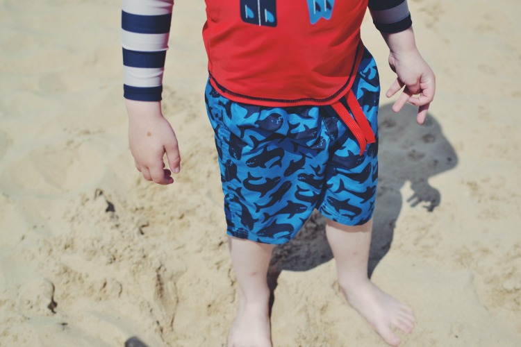 Frugi Family Swimwear shorts