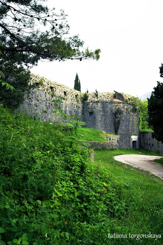 Вид на вход в крепость