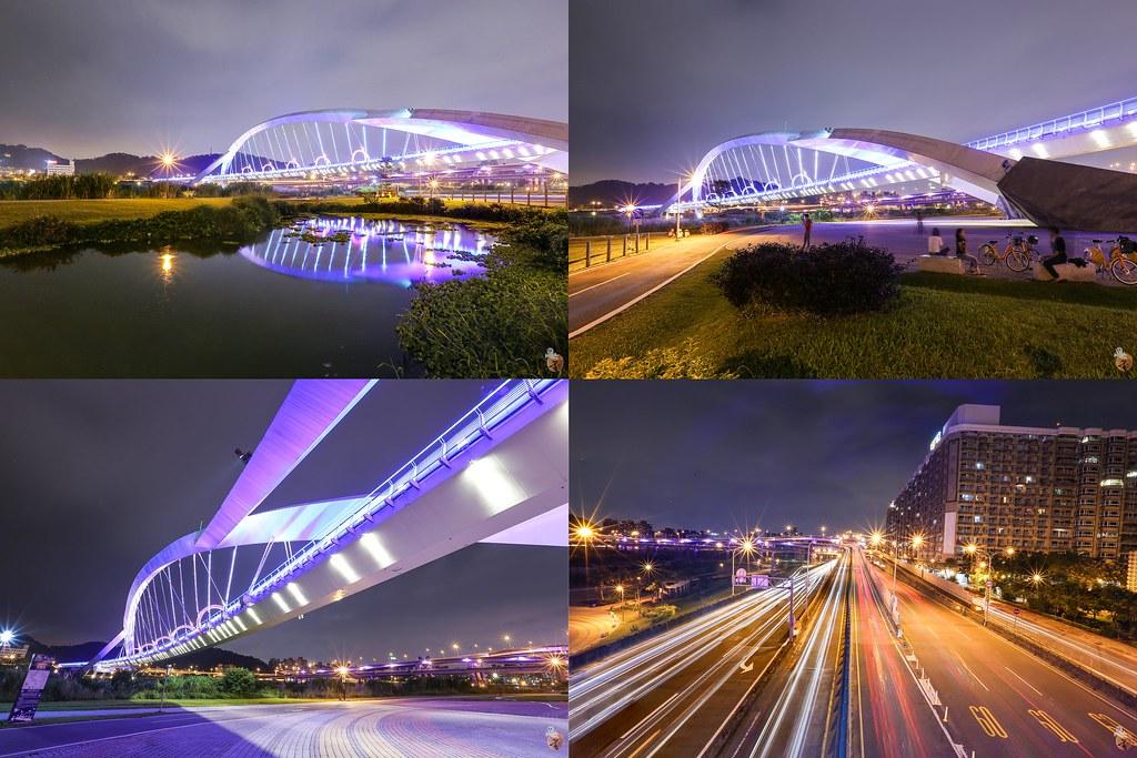 陽光橋夜景