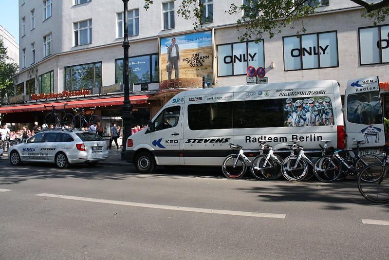 KED Stevens Team Tour de Berlin 2016