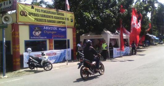 Pos Pengamanan Baruna (Adin, 2 Juli)