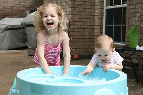 Time to get out the water table!