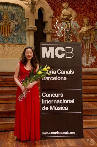 Soo Jung Ann, ganadora del Premi de Música María Canals (Patrocinado por Fundación Banco Sabadell)