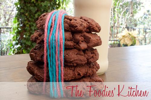 Triple Threat Chocolate Cookies