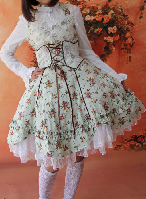 Infanta_Halter_Wrapping_Tape_Lace_Up_Lolita_Dress_13