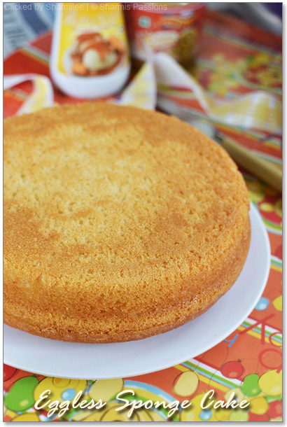 Eggless Vanilla Sponge Cake Step By Step Eggless Basic Cake Recipe