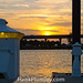 Dock Lite Sunset