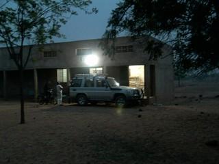 Licht in der Schule in Pathiri