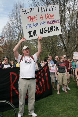 Opinion tea party is against gays