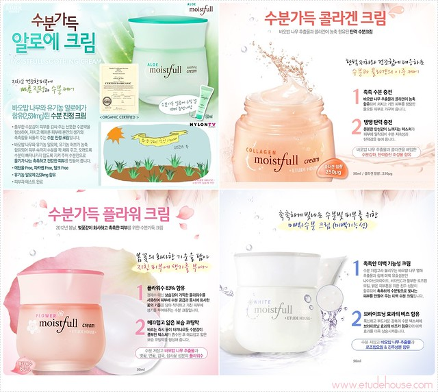 Etude Moistful Cream Line