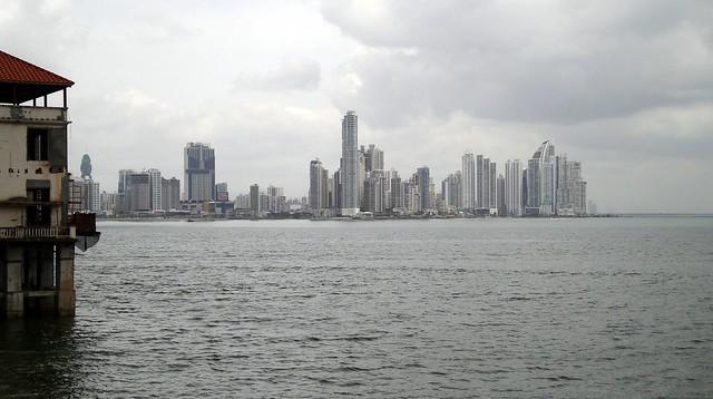Costa pacifica desde Casco Antiguo - Panama