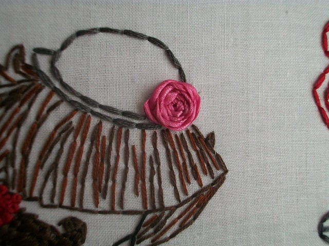 Spider web ribbon rose flickr photo sharing