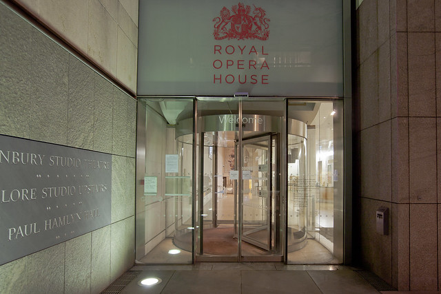 Entrance to the Royal Opera House from Bow Street © ROH 2012
