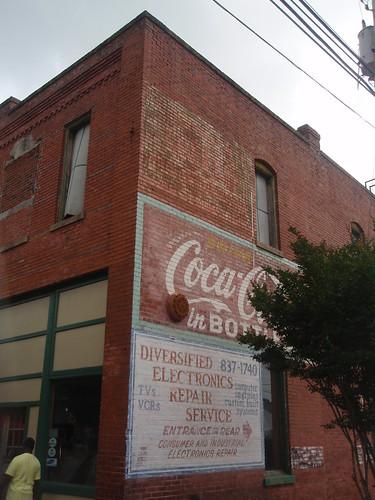 coca cola mural