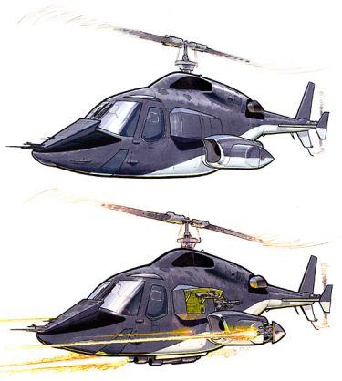 Blue Thunder Cartoon
