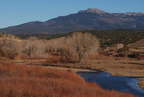 Fisher's Peak from Cokedale, Colorado by Get The Flick
