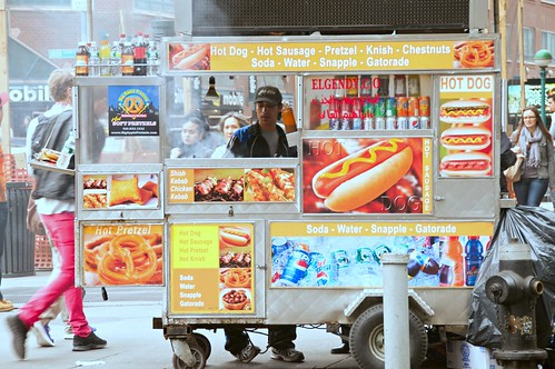 Street Food Vendor- Food Cart