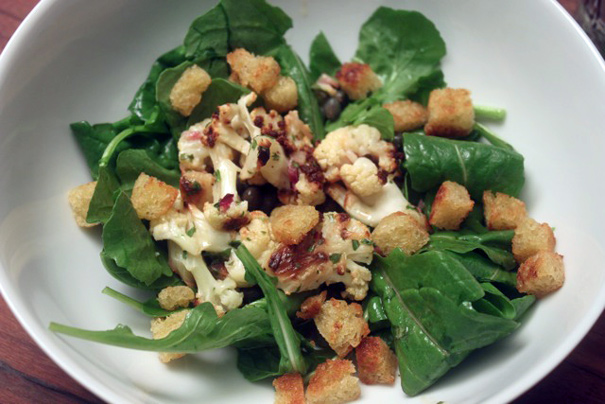 Marinated Roasted Cauliflower Salad - Amateur Gourmet