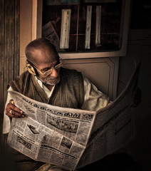 In his own little world... by Vineet Radhakrishnan
