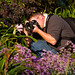 Crouching Photographer, Hidden Artist by Paul Cory
