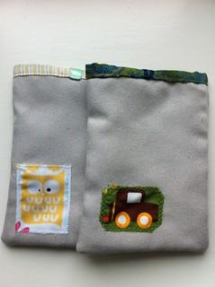 achterzijde cadeauzakjes