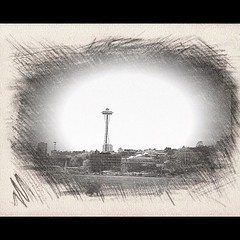 Day 2. Skyline #photoadaymay #mysketch Taken from the boat 2 weekends ago