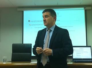Jose Ignacio Gaztañaga en ASTIC