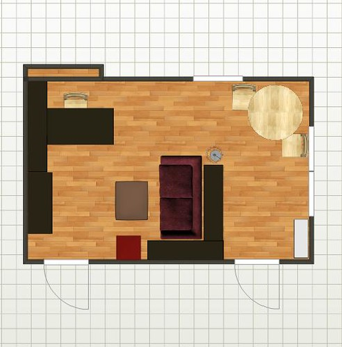 New Living Room Floor Plan