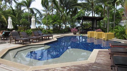 Koh Samui Kandaburi Resort beachpool サムイ島カンダブリリゾート (4)