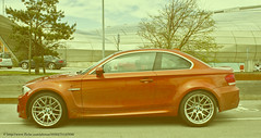 automobile, automotive exterior, executive car, wheel, vehicle, automotive design, rim, bumper, bmw 1 series (e87), land vehicle, luxury vehicle, coupã©, sports car,