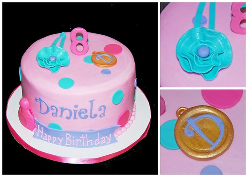 8th birthday boutique party cake