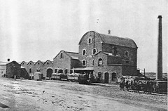 Albion Mill c1895, the first one was destroyed by fire