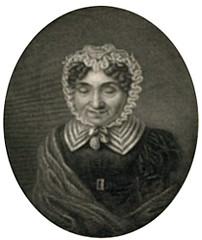 <p>Petronella Moens, anoniem portret</p>