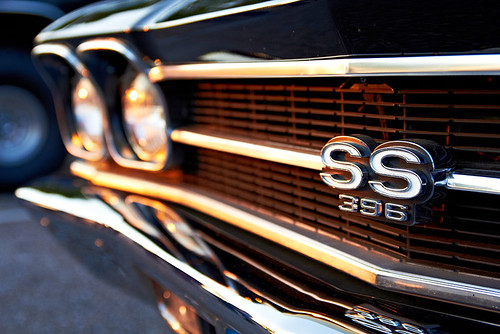 sunset detail classic cars chevrolet vintage chevelle chrome ss396