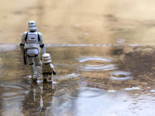 drip -drop- walking