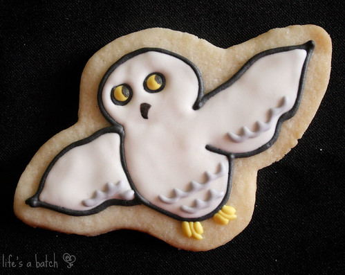 Hedwig Potterpuff Cookie.