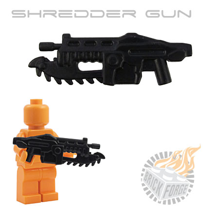Shredder Gun - Black