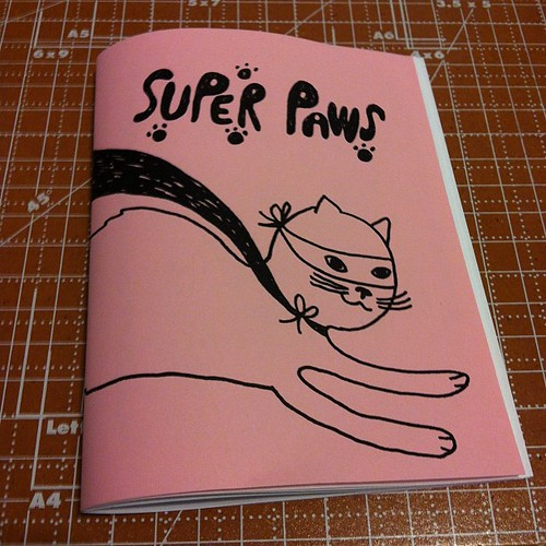 Super Paws zine.