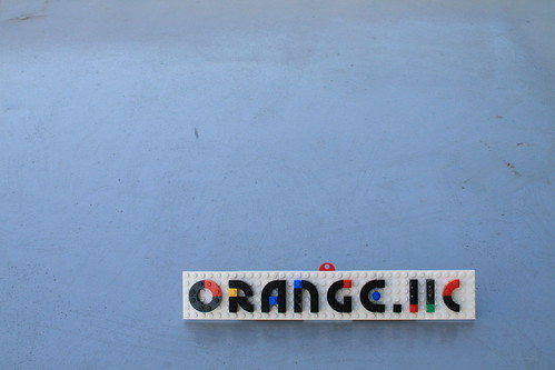 Lego Nameplate sample