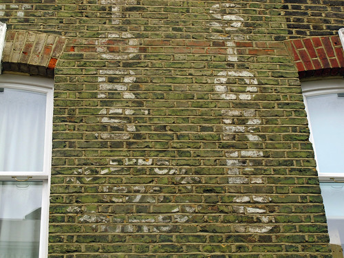 Ghost sign - telephone 1875 Battersea.