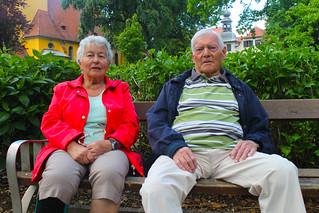 Elfriede und Josef bevorzugen es leger und gemütlich