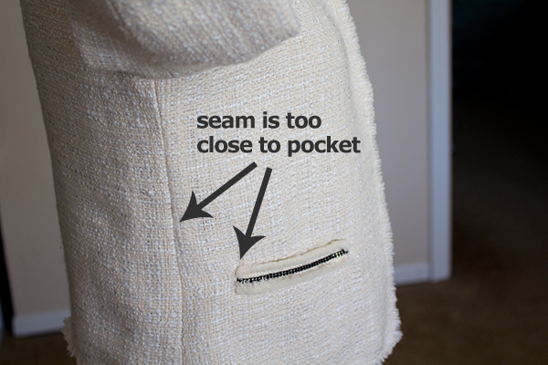 pocket-seam