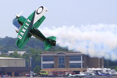 2012 Smyrna Air Show: Jason Newburg Knife-Edge Takeoff
