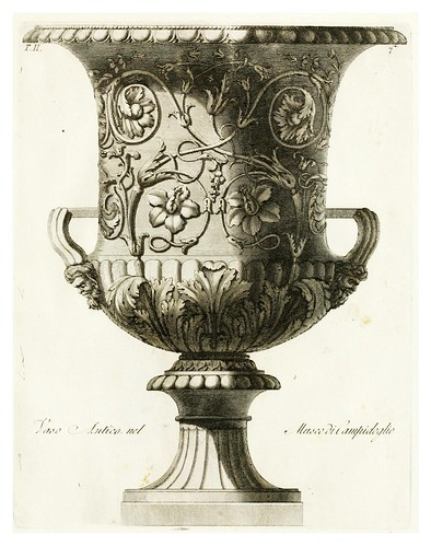 011-Manuale di varj ornamenti componenti la serie de' vasj antichi…Vol 2-1740-Carlo Antonini
