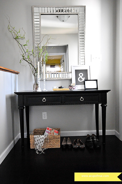 entry table-makeover